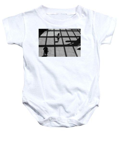 On The Grid Baby Onesie