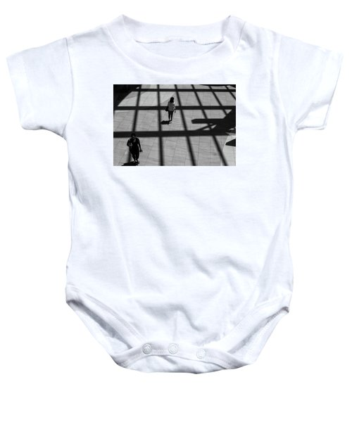 On The Grid Baby Onesie