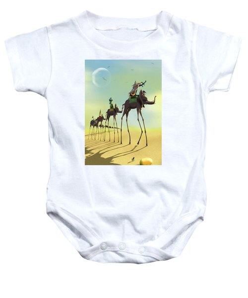 On The Move 2 Baby Onesie by Mike McGlothlen
