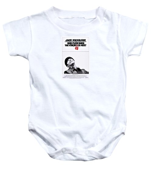 One Flew Over The Cuckoo's Nest Baby Onesie