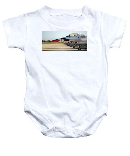 One Jet Or Seven Baby Onesie