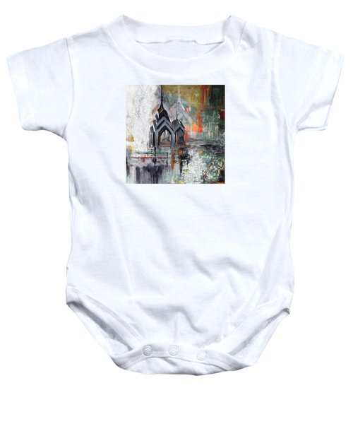 One Liberty Place And Two Liberty Place 229 3 Baby Onesie by Mawra Tahreem
