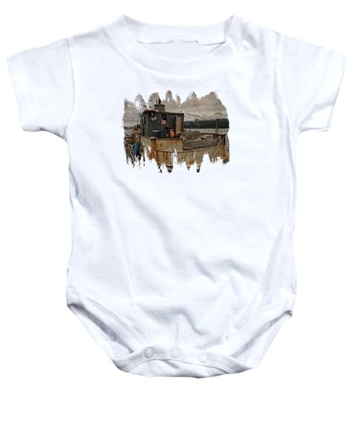 One Salty Dog Baby Onesie