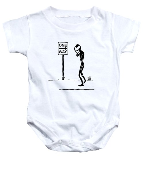 One Way Baby Onesie