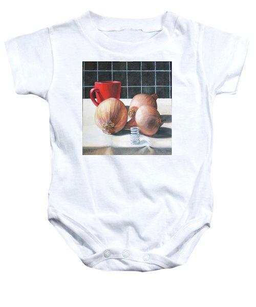 Onions Baby Onesie