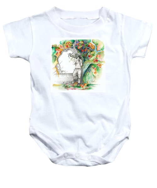 Open Your Eyes -the World Is Changing Baby Onesie