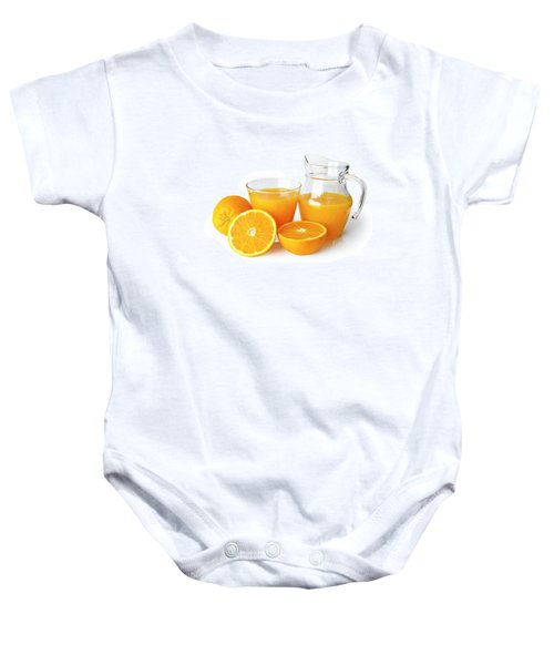 Orange Juice Baby Onesie