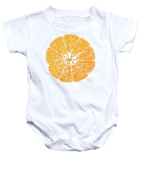 Orange You Glad Baby Onesie