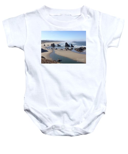 Oregon Coast Sea Stacks Baby Onesie