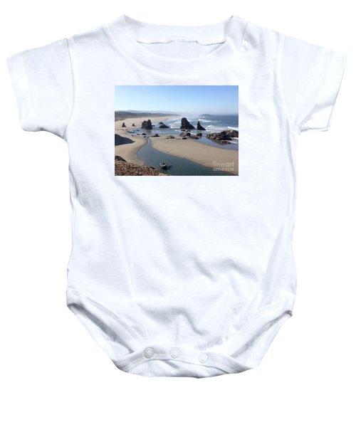Oregon Coast Sea Stacks Baby Onesie