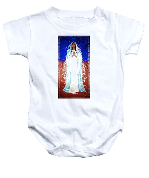 Our Lady Of Lucid Dreams Baby Onesie