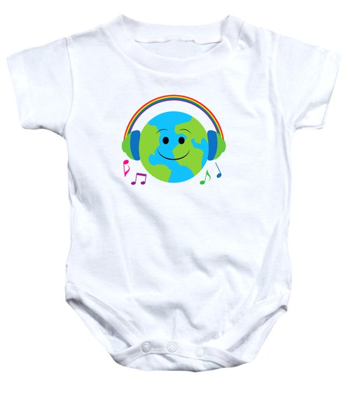 Our Musical World Baby Onesie