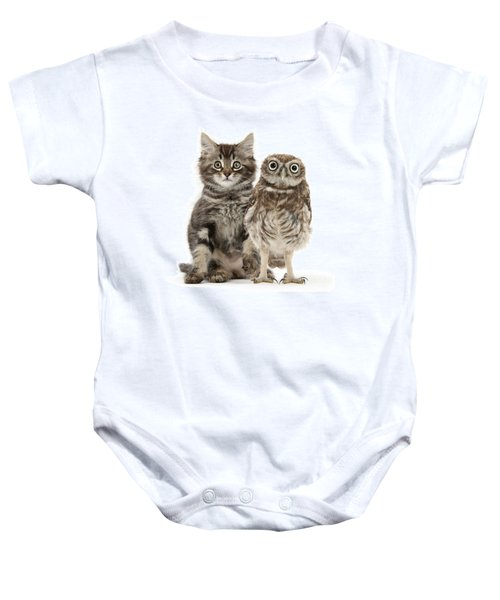 Owling And Yowling Baby Onesie