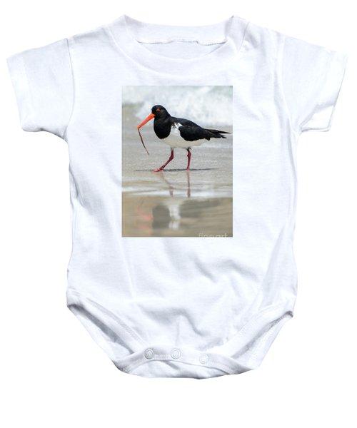 Oystercatcher 03 Baby Onesie