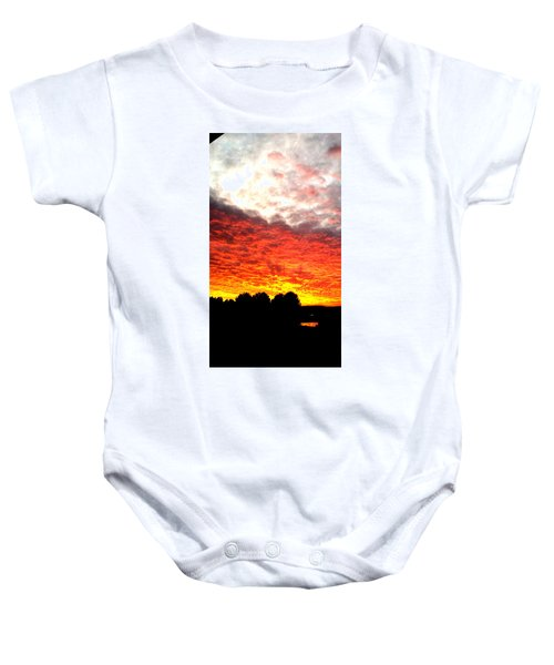 Pacific Coast Skies Baby Onesie