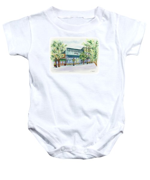 Paddington On Main Baby Onesie
