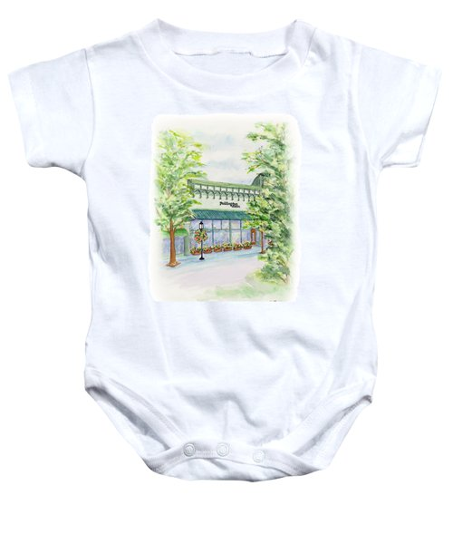 Paddington Station Baby Onesie