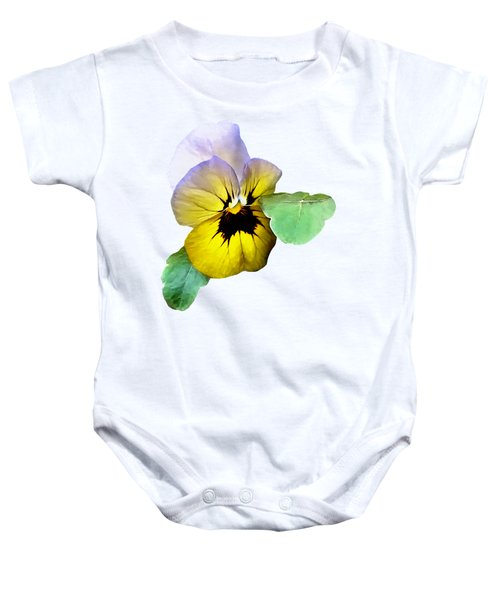 Pansy Saluting Baby Onesie