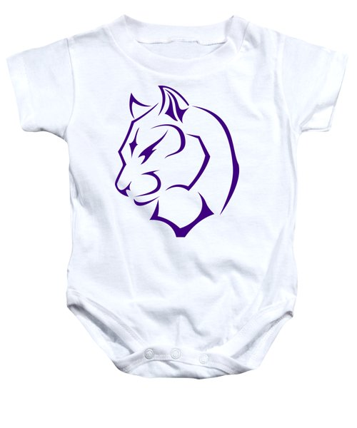 Panther Baby Onesie by Frederick Holiday