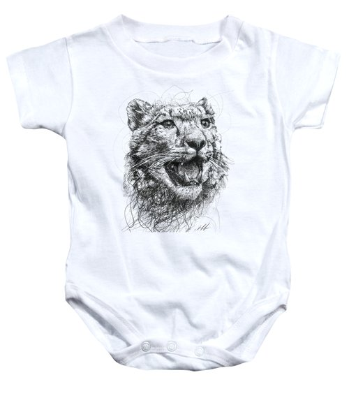 Leopard Baby Onesie by Michael Volpicelli