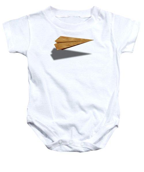 Paper Airplanes Of Wood 9 Baby Onesie