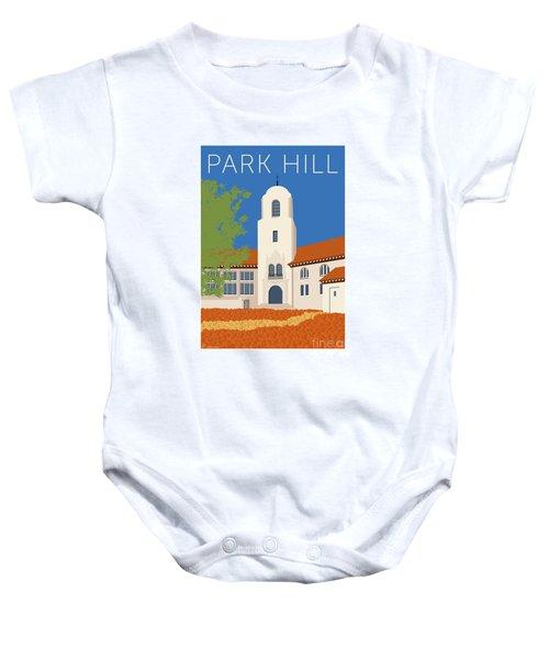 Park Hill Blue Baby Onesie