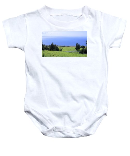 Pasture By The Ocean Baby Onesie