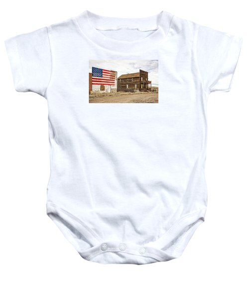Patriotic Bordello Baby Onesie
