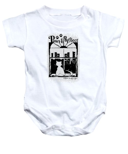 Paws And Reflect Baby Onesie