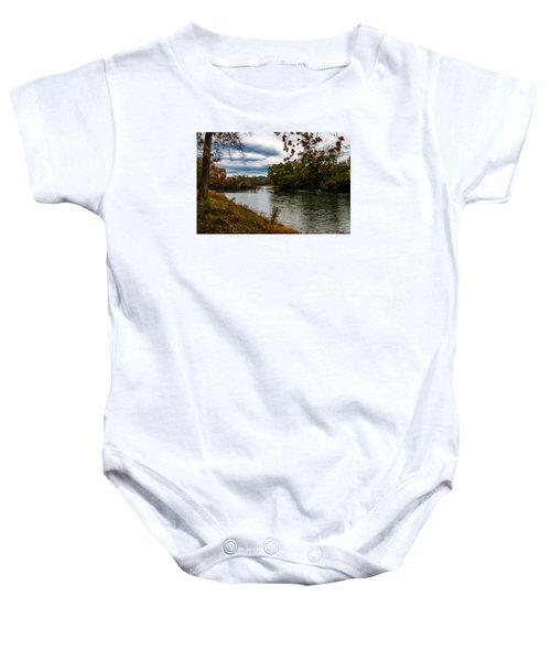 Peaceful River Baby Onesie