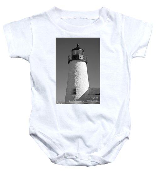 Pemaquid Point Lighthouse IIi Baby Onesie