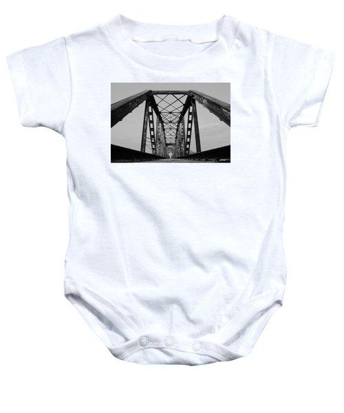 Pennsylvania Steel Co. Railroad Bridge Baby Onesie