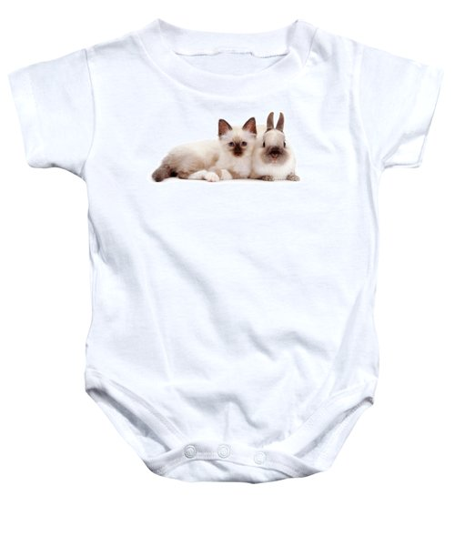 Perfectly Paired Pals Baby Onesie