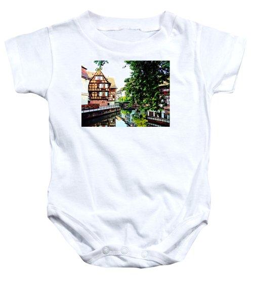 Petite France - Strassbourg, France Baby Onesie
