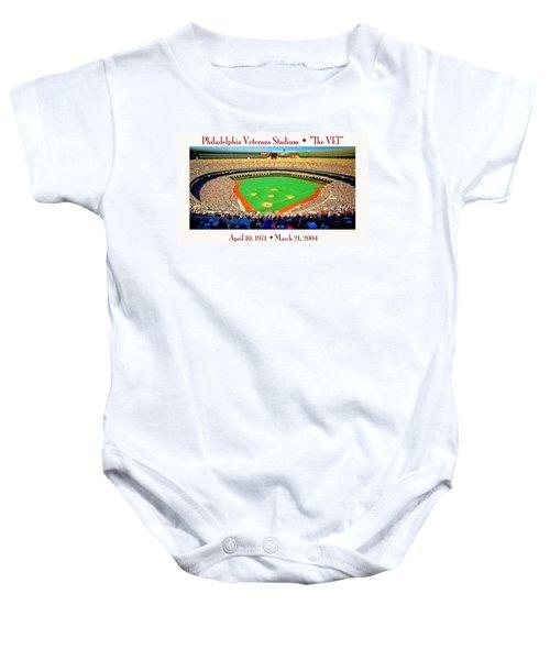 Philadelphia Veterans Stadium The Vet Baby Onesie