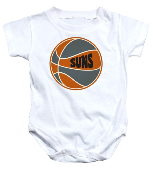 Phoenix Suns Retro Shirt Baby Onesie by Joe Hamilton