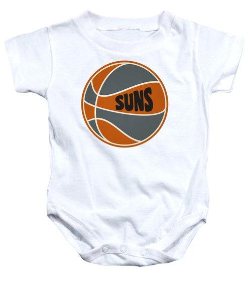 Phoenix Suns Retro Shirt Baby Onesie