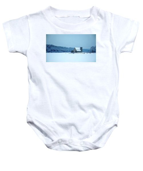 Photographer On Thin Ice Baby Onesie