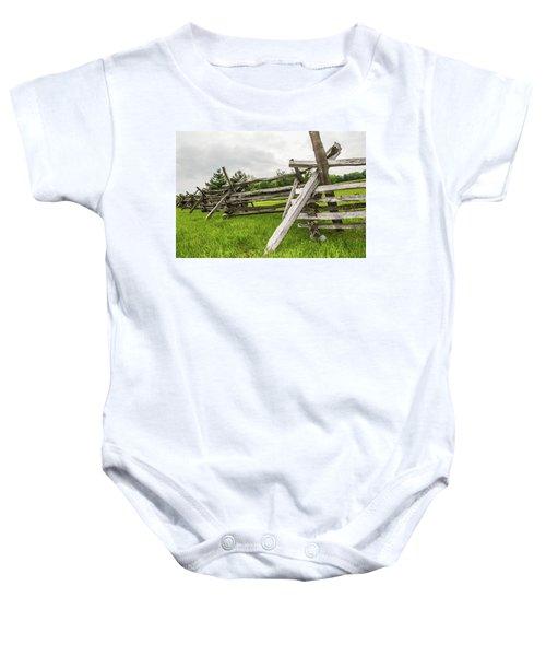 Picket Fence Baby Onesie