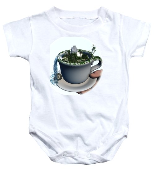 Piece Of Nature Cup Baby Onesie