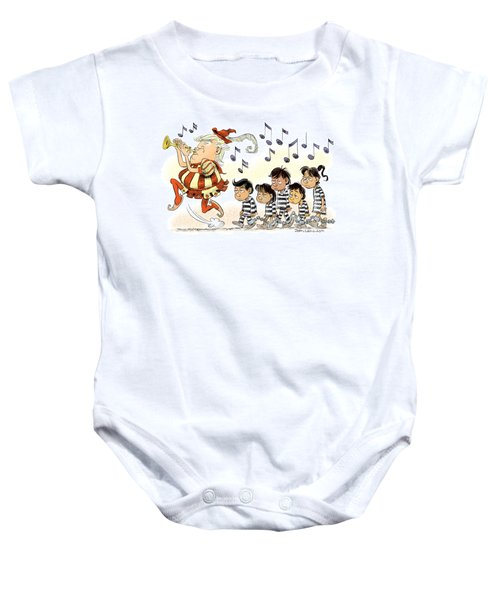 Pied Piper Trump And Infestation Baby Onesie