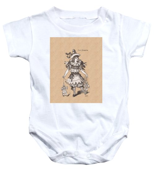 Pierrette With Puppets Baby Onesie