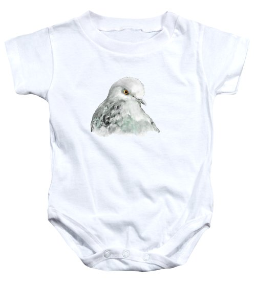 Pigeon Baby Onesie by Bamalam  Photography