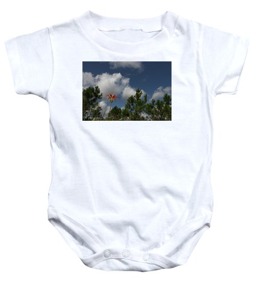Pine Lily And Pines Baby Onesie