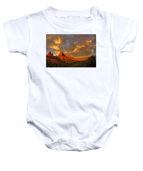 Pinnacle Of Light Baby Onesie