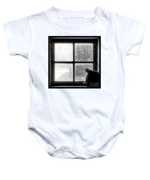 Pitcher In The Window Baby Onesie