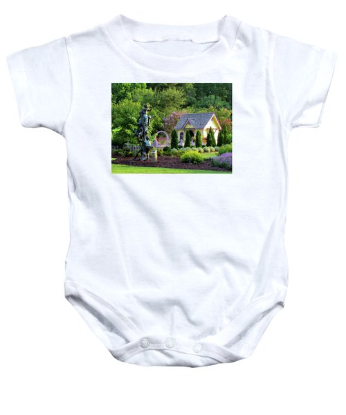 Playhouse In The Garden Baby Onesie