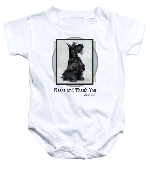 Please And Thank You Baby Onesie