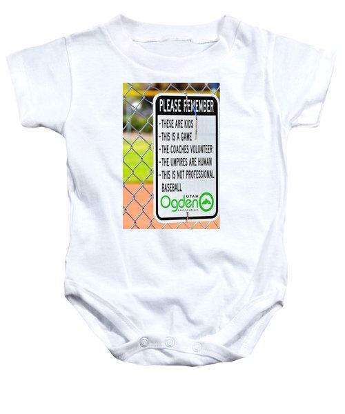 Please Remember 28 Baby Onesie