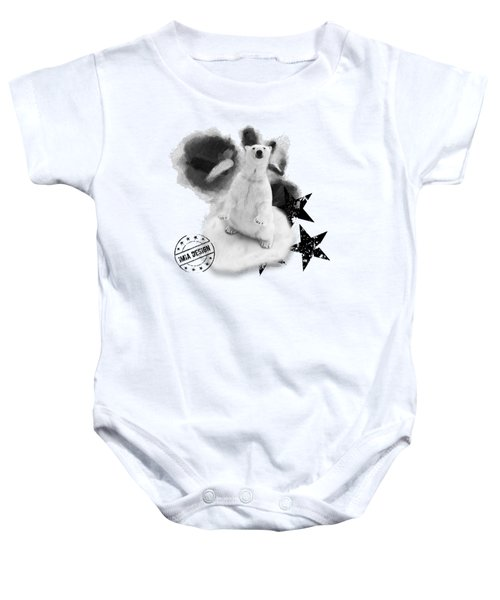 Polar Bear No 02 Baby Onesie